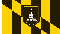 City of Baltimore Flag 3x5 4x6 5x8 6x10