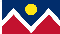 City of Denver Flag 3x5 4x6 5x8 6x10